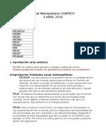 Acta Confech Metropolitano 4 abril