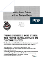 leading across cultures  with an aboriginal focus sowk 697