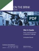 War in Saada
