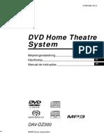 Manual Sony Dav-dz300