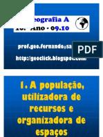 Apresentação - Estrutura Etária da População Portuguesa (10.º)