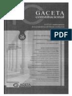 CDG - Excesos políticos y desbordes constitucionales del Tribunal Constitucional (PERU)