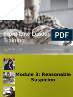 reasonable suspicion training