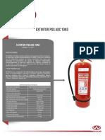 Extintor Wilug Pqs ABC 10kg