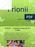 Proiect Prionii