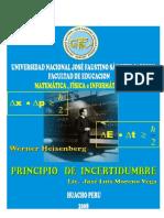 5 El Principio de Incertidumbr