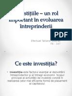 Investitiile Rol