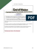 Illuminati - Owl of Wisdom