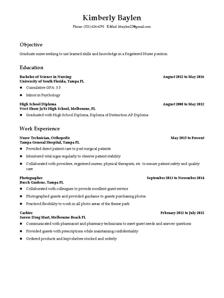 resume final  nursing  pharmacy