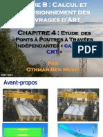 B4-Etude Pont Poutres Travées-Indépendantes CRT