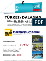 CLUB MAGIC LIFE Marmaris Imperial Abfl. 22.05.-05.06.10