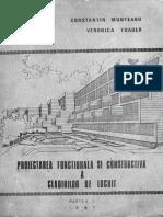 Proiectarea Functionala Si Constructiva a Cladirilor de Locuit