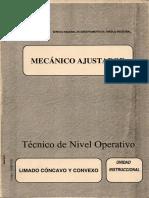 MECANICO AJUSTADOR N06 Limado Concavo y Convexo