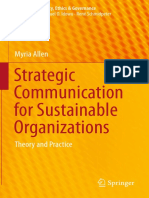 (CSR, Sustainability, Ethics &Amp_ Governance) Myria Allen (Auth.)-Strategic Communication for Sustainable Organizations_ Theory and Practice-Springer International Publishing (2016)