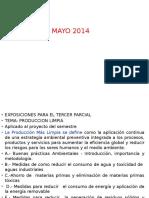 Proteccion Ambiental III Parcial Junio 2014