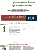 PotagerDurable.com 11 Erreurs a Eviter