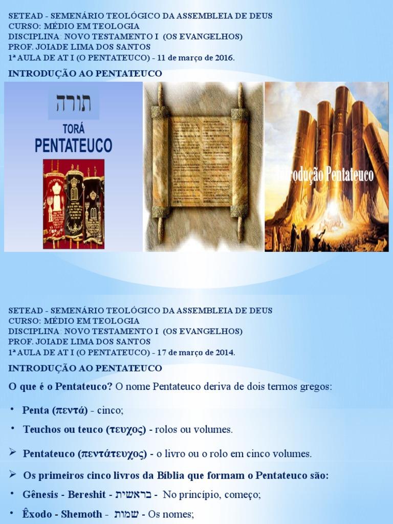 1 aula de at i pentateuco slide 11032016 002 fandeluxe Choice Image