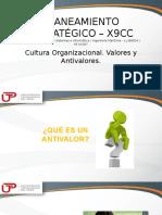 Cultura Organizacional Valores y Antivalores 28839