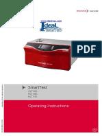 Pfeiffer Vacuum - SmartTest HLT 550, HLT 560 and HLT 570 Operating Instructions