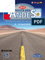 Rallystory Programme Route de Andes2016