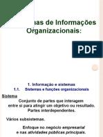 Sistemas Informacoes Organizacionais