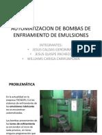 Automatizacion de Bombas de Enfriamiento de Emulsiones