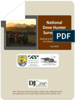 national dove hunter survey report 7-22-14