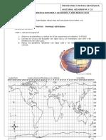 Evaluación Diagnóstica 2016 Historia, Geografia y Cs 5 Básico