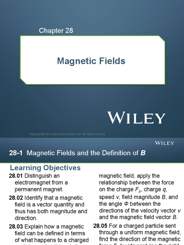 Physics 101 - magnetic fields | Magnetic Field | Electric Charge