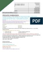 Taller Finanzas - Costos