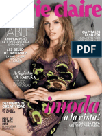 Revista MarieClaire español - Marzo 2016