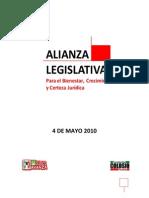 Proyecto de la Alianza Legistlativa Puebla Gana.
