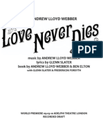 Love Never Dies Libretto