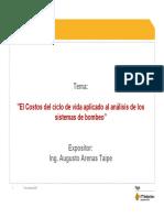 Costo de Ciclo de Vida Ing Augusto Arenas