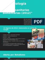 Alertas Sanitarias 2012