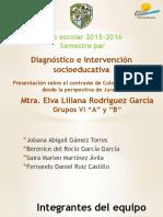 Expo.- Presentación Sobre El Contraste de Colombia y México Desde La Perspectiva de Jurado