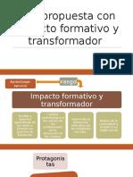 Expo.- Una Propuesta Con Impacto Formativo y Transformador