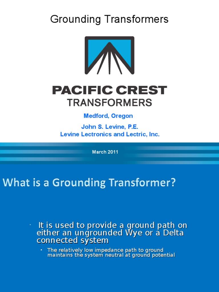 Ieee Grounding Transformers 1ppt Transformer Power Engineering Zig Zag Wiring Diagram