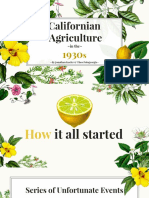 california agriculture 1930s