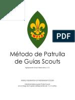 Método de Patrulla de Guías Scouts