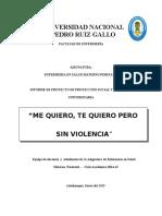INFORME DE PROYECCION- ME QUIERO TE QUIERO PERO SIN VIOLENCIA -2014 II.docx