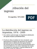 Distribucion Del Ingreso CEPAL