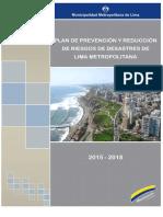 Plan  de Prevencion y Reduccion de Riesgos de Desastres de Lima Metropolitana 2015-2018.pdf