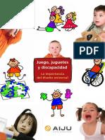 Juego Juguetes y Discapacidad, Libro.