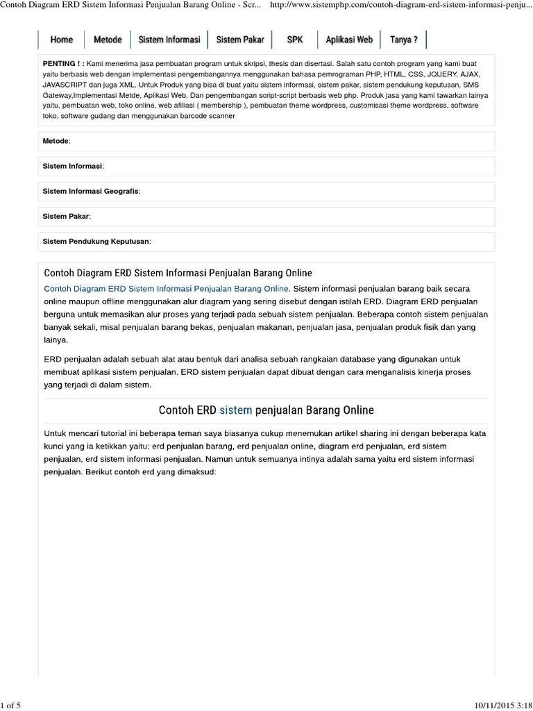 Script Source Code Contoh Program Aplikasi Php