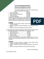 Ejercicios de Costos de Produccion Ventas y EGP