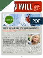 IAMU PP Article IronWill - Dr Joshua David Stone