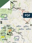 Maps Salkantay and Train