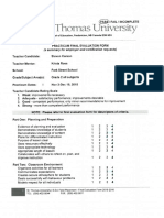 stevens evaluation 1