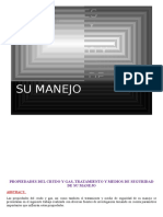 PROPIEDADES DEL CRUDO Y GAS, TRATAMIENTO Y MEDIOS DE SEGURIDAD DE SU MANEJO